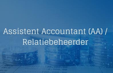 vacature Assistent Accountant (AA) Relatiebeheerder