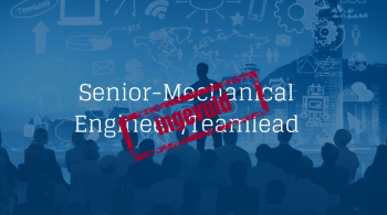 Senior-Mechanical Engineer-Teamlead