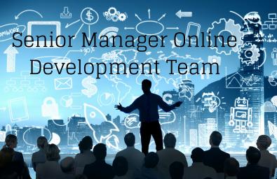 Senior Manager Online Development Team