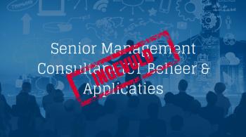 Senior-Management Consultant Beheer Applicaties