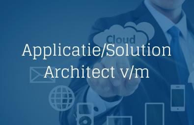 Applicatie Solution Architect