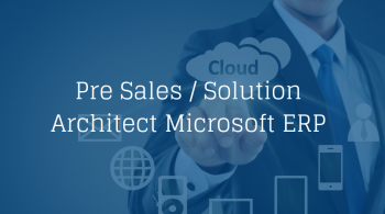 Pre Sales Solution Architect MS ERP