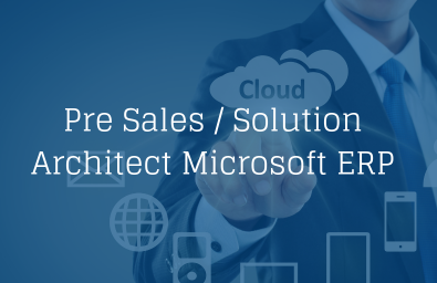 Pre Sales Solution Architect MS ERP