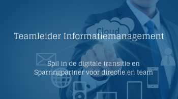 Teamleider Informatiemanagement