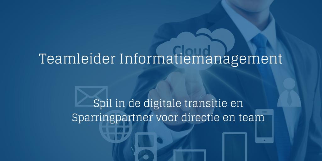 Teamleider Informatiemanagement