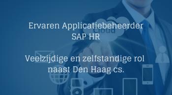 Ervaren Applicatiebeheerder SAP HR