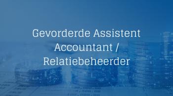 Gevorderde Assistent Accountant - Relatiebeheerder