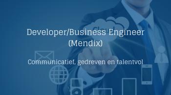 Mendix Developer - Business Engineer