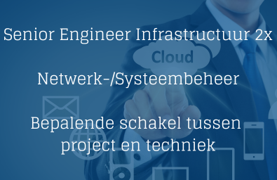 Senior Engineer Infrastructuur