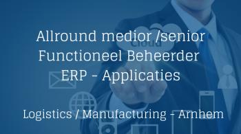 Functioneel Beheerder ERP Applicaties