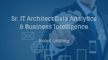 IT Architect Data Analytics & Business Intelligence