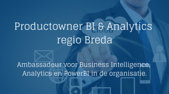Productowner Business Intelligence & Analytics